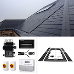 Plug In Solar New Build In Roof (BIPV) Solar Power Kit for Part L Building Regulations