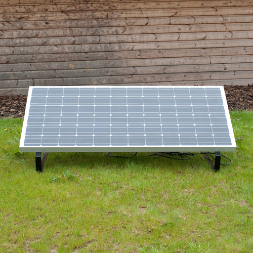 Plug In Solar 1kw 1000w Diy Solar Power Kit With Adjustable Mounts For Ground Or Flat Roof Plug In Solar
