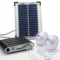 HUBi 2k Portable Solar Lighting and Power System