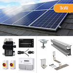 Plug In Solar 1kW New Build Developer Solar Power Kit for Part L Building Regulations