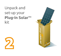 Plug In Solar DIY Kits, Self Fit Solar