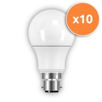 B22 LED 6.3W Globe Opal Bulb