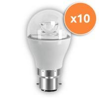 B22 LED 6W Globe Clear Bulb