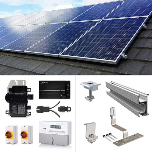 Plug In Solar New Build Solar Kits for Part L Building Regulations