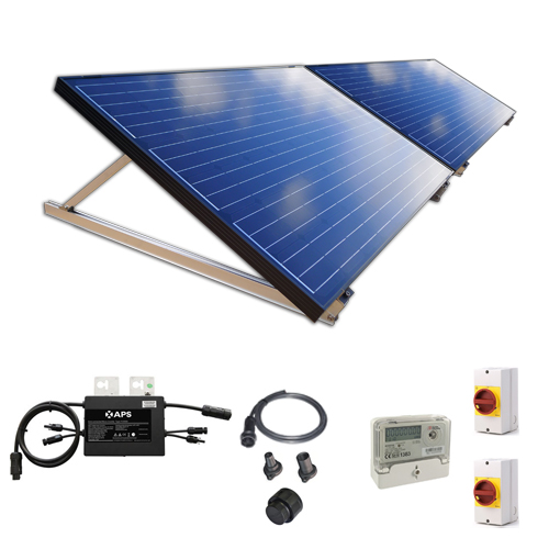 500W New Build / Developer Solar Kit with Adjustable Ground Mounts