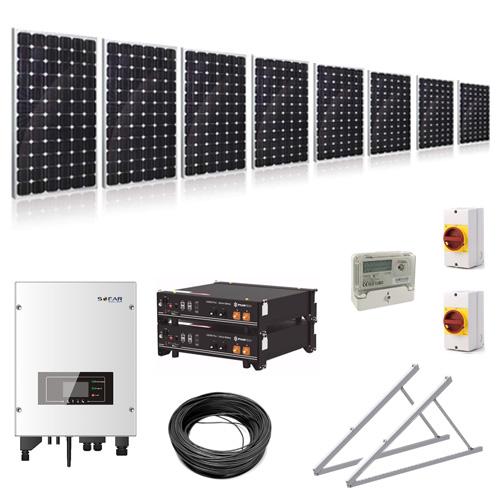 Hybrid Solar Kit Ground Mount