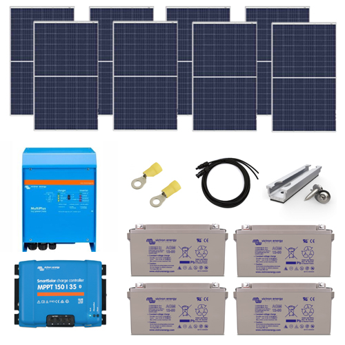 2.2kW Off Grid Solar Charging Kit
