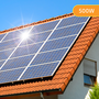 Plug-In Solar 500W DIY Solar Power Kit with Roof Mount (For Tile or Slate Roofs)