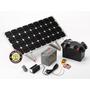 150W Off Grid DIY Solar Power Station