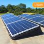 1.75kW (1750W) Flat Roof Mount DIY Solar Kit