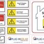 MCS Solar Warning Labels