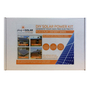 Plug-In Solar 250W DIY Solar Power Kit with Roof Mount