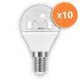3.8W E14 LED Clear Mini Globe Bulb 250Lm 2700K