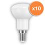 6W R50 E14 LED Opal Spotlight 430Lm 2700K