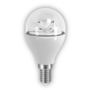 6W E14 LED Clear Mini Globe Bulb 470Lm 2700K