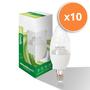 6W E14 LED Clear Candle Bulb 470Lm 4000K