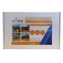 Plug-In Solar 3.25kW (3250W) DIY Solar Power Kit with Flat Roof Mount