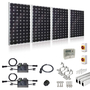 Plug-In Solar 1kW New Build Developer Solar Power Kit for Part L Building Regulations