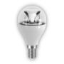 6.5W E14 LED Clear Mini Globe Bulb 470Lm 2700K