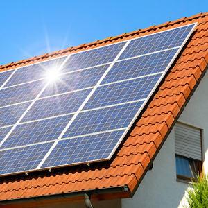 Plug-In Solar 3kW (3000W) DIY Solar Power Kit with Roof Mount (For Tile or Slate Roofs)