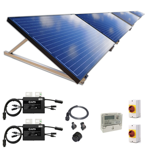 Plug-In Solar 1kW (1000W) New Build Ground Mount Solar Power Kit for Part L Building Regulations